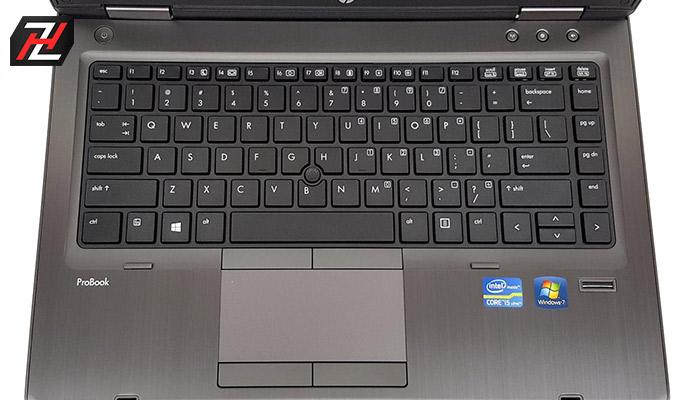 صفحه کلید و تاچ پد لپ تاپ ProBook 6470b HP