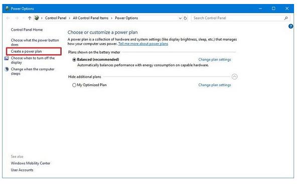 تنظیمات پاور را بر روی لپ تاپ خود تنظیم کنید