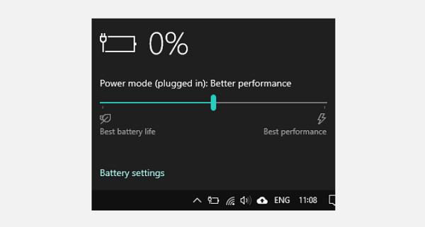 دسترسی به Power Plan در لپ تاپ