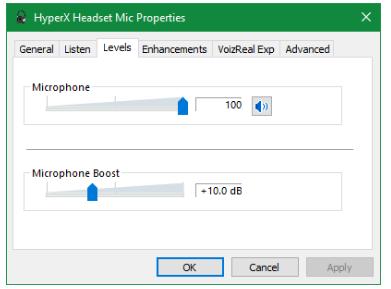 برای حل مشکلات صدای میکروفون در ویندوز سطح میکروفون و حالت اختصاصی بررسی کنید