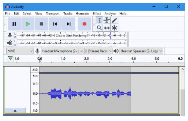 برای عیب یابی صدای خود را ضبط کنید