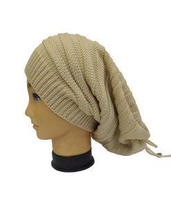 کلاه اسکارف کرمی