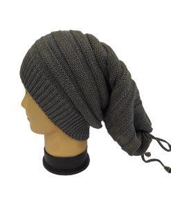 کلاه اسکارف طوسی