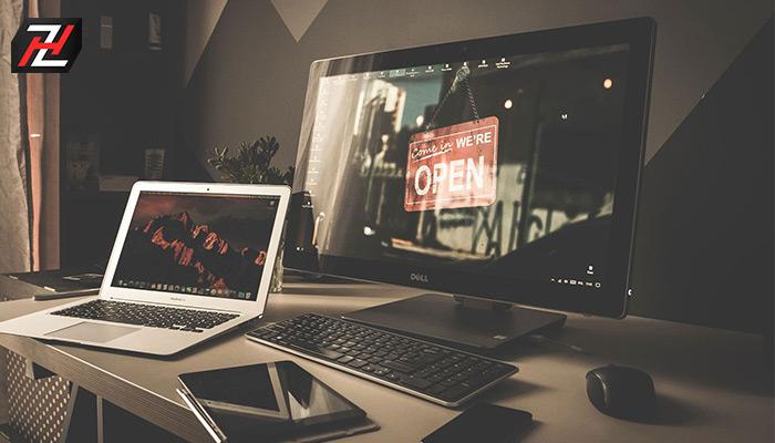 آموزش سریع و آسان نحوه اتصال لپ تاپ به مانیتور