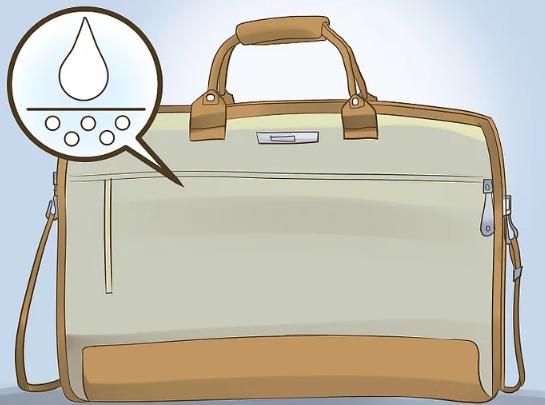 یک حامل ساخته شده از مواد مقاوم در برابر آب پیدا کنید