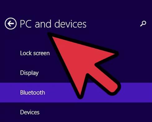 به تنظیمات رایانه بروید و روی «PC and devices» کلیک نمایید