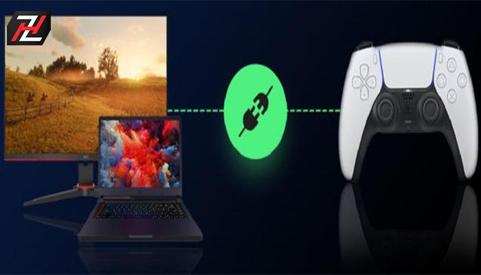 آموزش اتصال دسته پلی استیشن 5 به کامپیوتر یا لپ تاپ