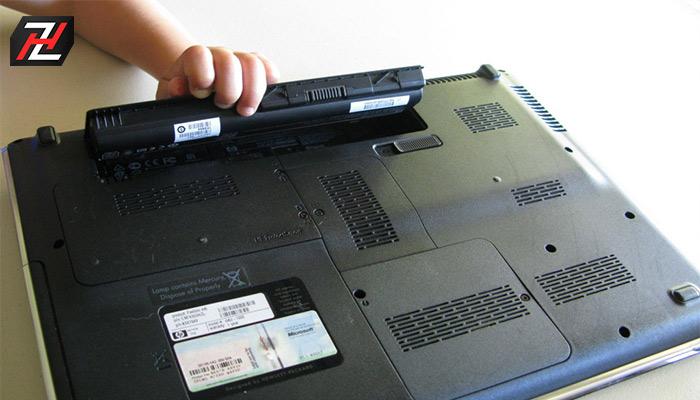 مشخصات لپ تاپ: باتری