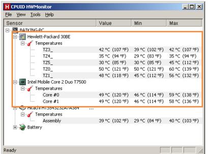 استفاده از نرم افزار نظارت بر دمای داخل برای مراقبت از لپ تاپ مخصوص بازی