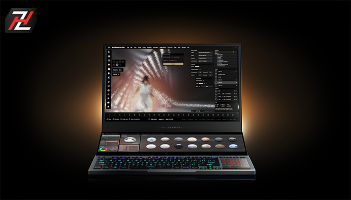 یسوس Zephyrus Duo 15 از بهترین لپ تاپ های بازی