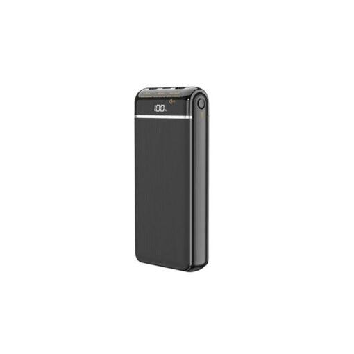 پاوربانک (شارژر همراه) ریمکس مدل RPP-109 ظرفیت 20000 میلی آمپر ساعت مشکی