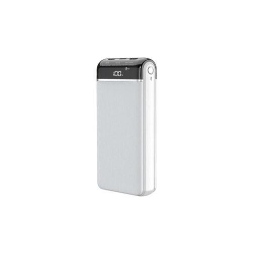 پاوربانک (شارژر همراه) ریمکس مدل RPP-109 ظرفیت 20000 میلی آمپر ساعت سفید