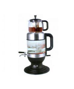 چای ساز پیرکس سماوری دلمونتی مدل DL445 مشکی