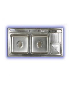 سینک ظرفشویی سورند پلاس سطل آشغال دار مدل SN:901