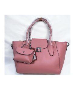 کیف چرم زنانه taihong کد 106 صورتی