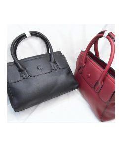 رنگ بندی کیف چرم زنانه اصل کد 122