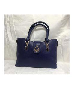 کیف چرم زنانه کد 116 سورمه ای