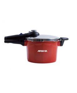 دیگ زودپز ۵ لیتر قرمز عرشیا مدل PR622-1808